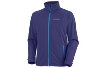 Columbia Men's Tectonic Access Softshell aristocrat/compass blue